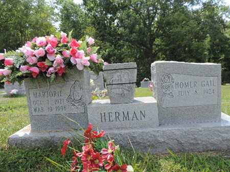 HERMAN, HOMER GAIL - Pike County, Ohio | HOMER GAIL HERMAN - Ohio Gravestone Photos