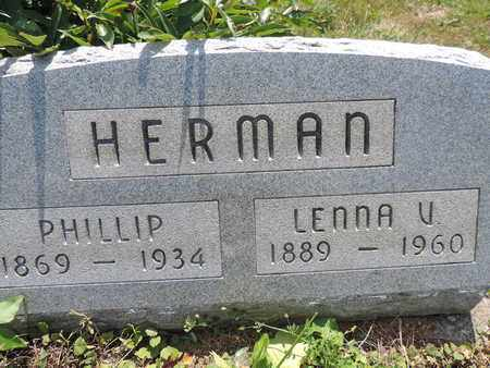 HERMAN, LENNA V. - Pike County, Ohio | LENNA V. HERMAN - Ohio Gravestone Photos