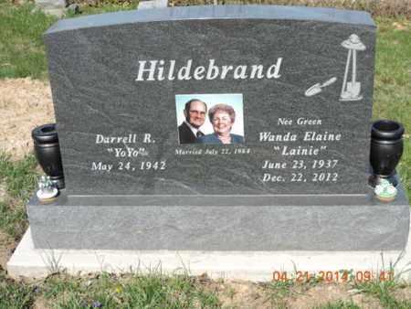 HILDEBRAND, WANDA ELAINE - Pike County, Ohio | WANDA ELAINE HILDEBRAND - Ohio Gravestone Photos