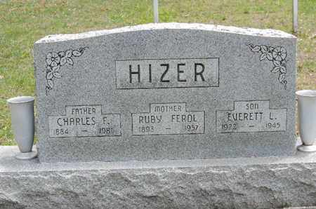 HIZER, EVERETT L. - Pike County, Ohio | EVERETT L. HIZER - Ohio Gravestone Photos