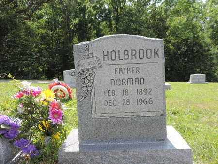 HOLBROOK, NORMAN - Pike County, Ohio | NORMAN HOLBROOK - Ohio Gravestone Photos