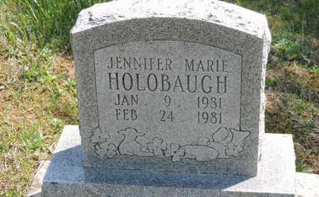 HOLOBAUGH, JENNIFER MARIE - Pike County, Ohio | JENNIFER MARIE HOLOBAUGH - Ohio Gravestone Photos