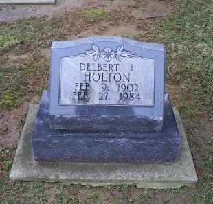 HOLTON, DELBERT L. - Pike County, Ohio | DELBERT L. HOLTON - Ohio Gravestone Photos