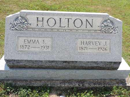 HOLTON, EMMA F. - Pike County, Ohio | EMMA F. HOLTON - Ohio Gravestone Photos
