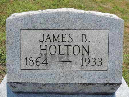 HOLTON, JAMES B. - Pike County, Ohio | JAMES B. HOLTON - Ohio Gravestone Photos