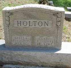 HOLTON, CLYDE - Pike County, Ohio | CLYDE HOLTON - Ohio Gravestone Photos