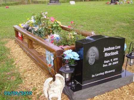 HORINEK, JOSHUA - Pike County, Ohio | JOSHUA HORINEK - Ohio Gravestone Photos