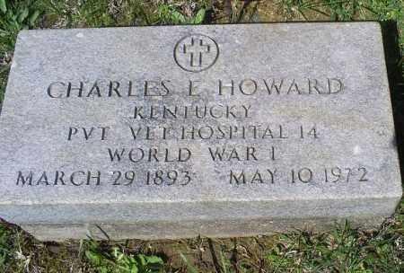 HOWARD, CHARLES E. - Pike County, Ohio | CHARLES E. HOWARD - Ohio Gravestone Photos