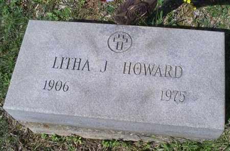 HOWARD, LITHA J. - Pike County, Ohio | LITHA J. HOWARD - Ohio Gravestone Photos