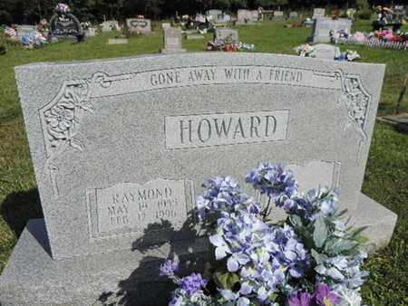 HOWARD, RAYMOND - Pike County, Ohio | RAYMOND HOWARD - Ohio Gravestone Photos