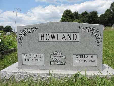 HOWLAND, DALE - Pike County, Ohio | DALE HOWLAND - Ohio Gravestone Photos