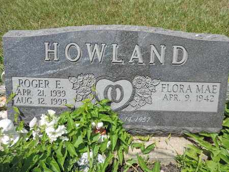 HOWLAND, ROGER E. - Pike County, Ohio | ROGER E. HOWLAND - Ohio Gravestone Photos