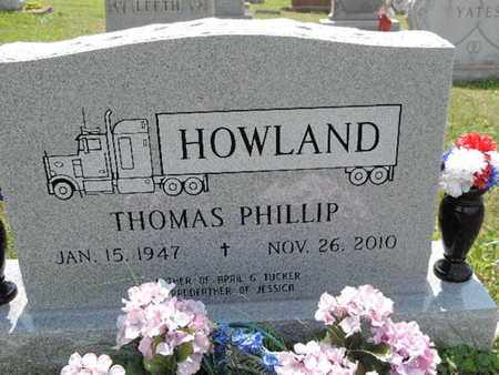HOWLAND, THOMAS PHILLIP - Pike County, Ohio | THOMAS PHILLIP HOWLAND - Ohio Gravestone Photos