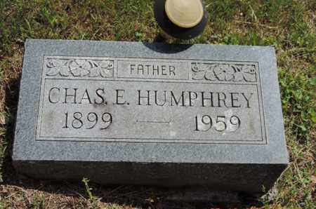 HUMPHREY, CHAS E. - Pike County, Ohio | CHAS E. HUMPHREY - Ohio Gravestone Photos