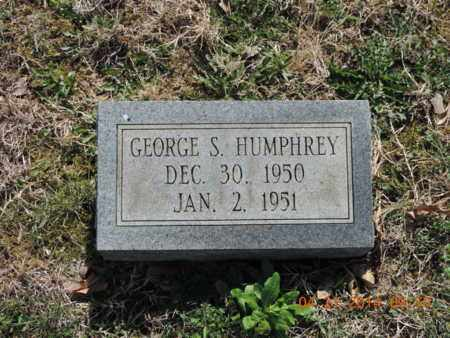 HUMPHREY, GEORGE S - Pike County, Ohio | GEORGE S HUMPHREY - Ohio Gravestone Photos