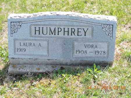 HUMPHREY, VORA - Pike County, Ohio | VORA HUMPHREY - Ohio Gravestone Photos