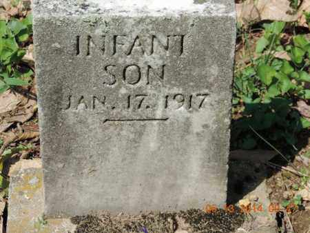 INFANT, SON - Pike County, Ohio | SON INFANT - Ohio Gravestone Photos