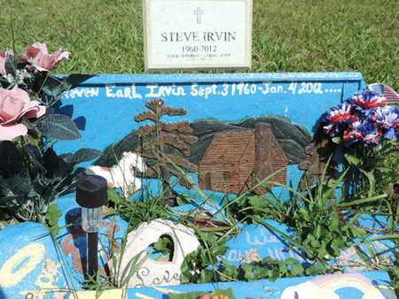IRVIN, STEVEN EARL - Pike County, Ohio | STEVEN EARL IRVIN - Ohio Gravestone Photos