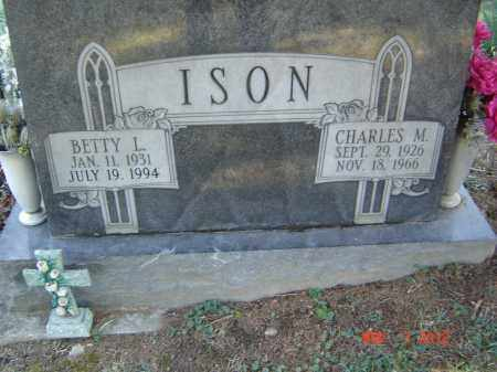 ISON, BETTY  I - Pike County, Ohio | BETTY  I ISON - Ohio Gravestone Photos