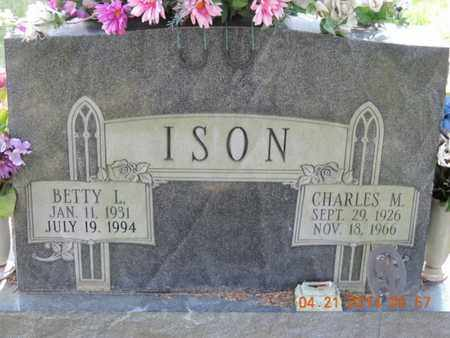 ISON, BETTY L - Pike County, Ohio | BETTY L ISON - Ohio Gravestone Photos
