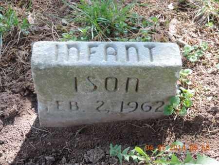 ISON, INFANT - Pike County, Ohio | INFANT ISON - Ohio Gravestone Photos