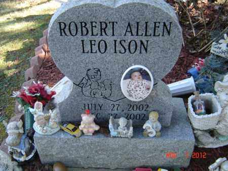 ISON, ROBERT ALLEN LEO - Pike County, Ohio | ROBERT ALLEN LEO ISON - Ohio Gravestone Photos