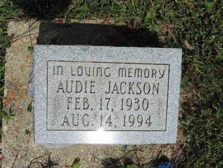 JACKSO, AUDIE - Pike County, Ohio | AUDIE JACKSO - Ohio Gravestone Photos