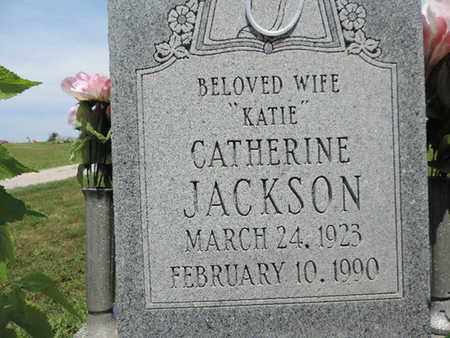 JACKSON, CATHERINE - Pike County, Ohio | CATHERINE JACKSON - Ohio Gravestone Photos