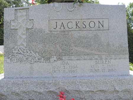 JACKSON, BUREN - Pike County, Ohio | BUREN JACKSON - Ohio Gravestone Photos