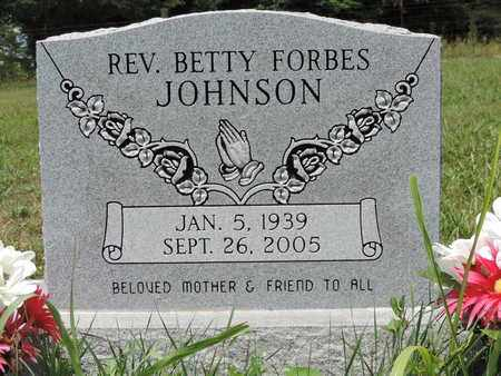JOHNSON, BETTY - Pike County, Ohio | BETTY JOHNSON - Ohio Gravestone Photos