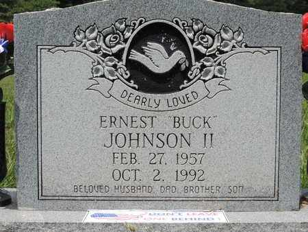 JOHNSON, ERNEST - Pike County, Ohio | ERNEST JOHNSON - Ohio Gravestone Photos