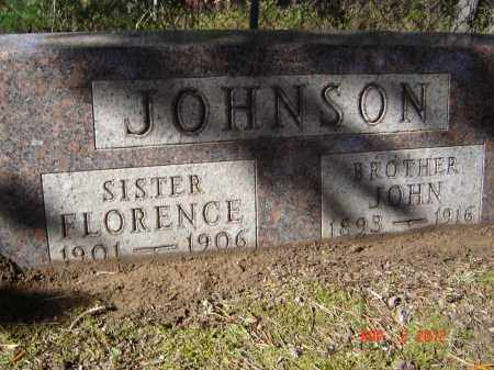 JOHNSON, FLORENCE - Pike County, Ohio | FLORENCE JOHNSON - Ohio Gravestone Photos