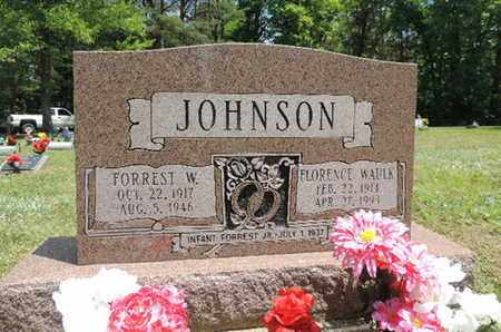 JOHNSON, FORREST W - Pike County, Ohio | FORREST W JOHNSON - Ohio Gravestone Photos