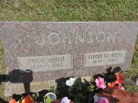 JOHNSON, LUCY VIOLA - Pike County, Ohio | LUCY VIOLA JOHNSON - Ohio Gravestone Photos