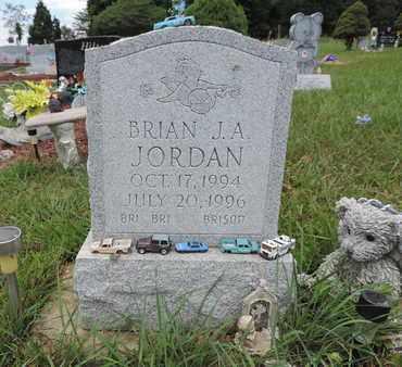 JORDAN, BRIAN J. A. - Pike County, Ohio | BRIAN J. A. JORDAN - Ohio Gravestone Photos