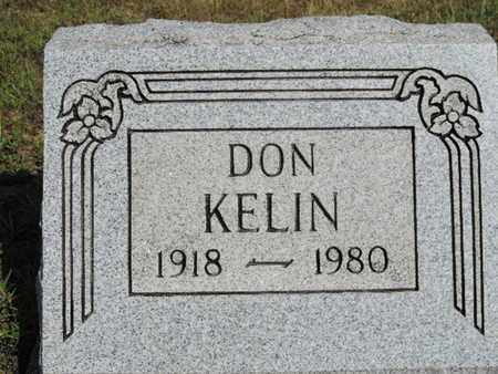 KELIN, DON - Pike County, Ohio | DON KELIN - Ohio Gravestone Photos