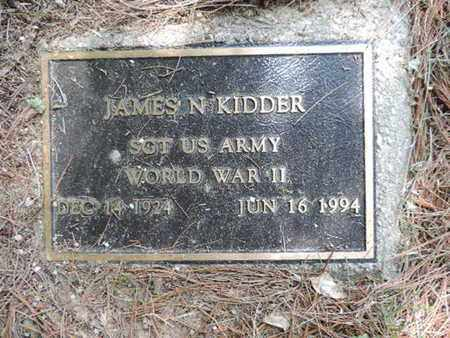 KIDDER, JAMES N. - Pike County, Ohio | JAMES N. KIDDER - Ohio Gravestone Photos