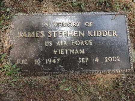 KIDDER, JAMES STEPHEN - Pike County, Ohio | JAMES STEPHEN KIDDER - Ohio Gravestone Photos