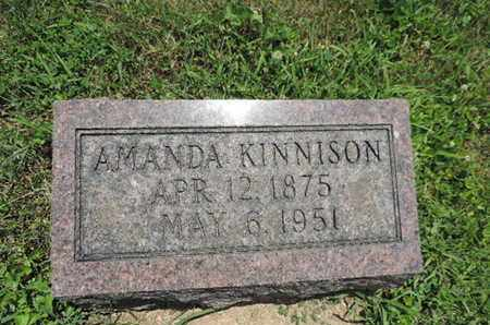 KINNISON, AMANDA - Pike County, Ohio | AMANDA KINNISON - Ohio Gravestone Photos