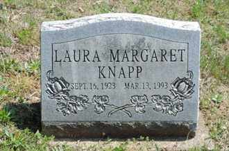 KNAPP, LAURA MARGARET - Pike County, Ohio | LAURA MARGARET KNAPP - Ohio Gravestone Photos