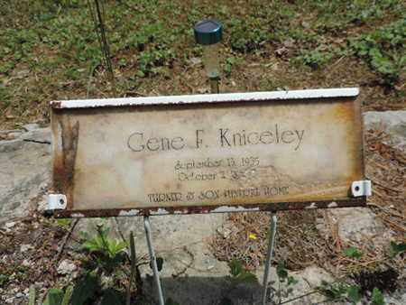 KNICELEY, GENE F. - Pike County, Ohio | GENE F. KNICELEY - Ohio Gravestone Photos