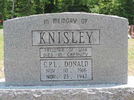 KNISLEY, DONALD - Pike County, Ohio | DONALD KNISLEY - Ohio Gravestone Photos