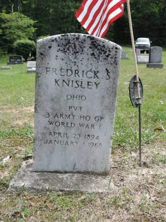 KNISLEY, FREDRICK S. - Pike County, Ohio | FREDRICK S. KNISLEY - Ohio Gravestone Photos