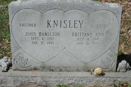KNISLEY, JOHN HAMILTON - Pike County, Ohio | JOHN HAMILTON KNISLEY - Ohio Gravestone Photos