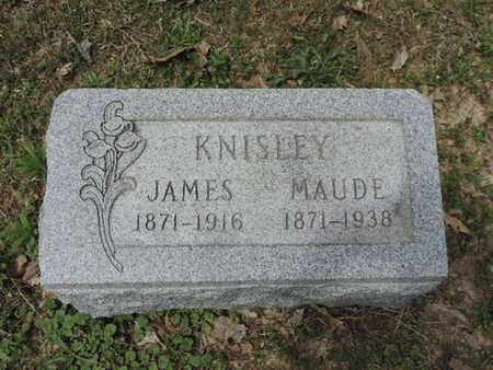 KNISLEY, JAMES - Pike County, Ohio | JAMES KNISLEY - Ohio Gravestone Photos
