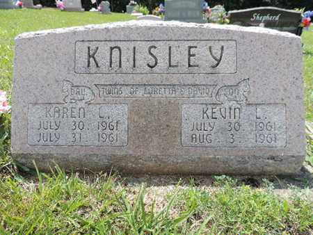 KNISLEY, KEVIN L. - Pike County, Ohio | KEVIN L. KNISLEY - Ohio Gravestone Photos