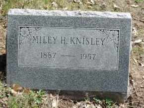 KNISLEY, MILEY H. - Pike County, Ohio | MILEY H. KNISLEY - Ohio Gravestone Photos