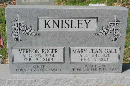 GAUL KNISLEY, MARY JEAN - Pike County, Ohio | MARY JEAN GAUL KNISLEY - Ohio Gravestone Photos