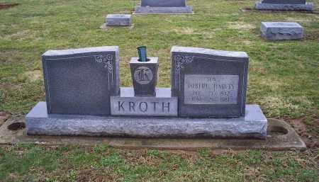 KROTH, ROBERT HARVEY - Pike County, Ohio | ROBERT HARVEY KROTH - Ohio Gravestone Photos