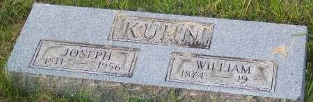 KUHN, WILLIAM - Pike County, Ohio | WILLIAM KUHN - Ohio Gravestone Photos